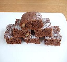 Light Chocolate Brownies