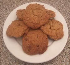 Chocolate & Walnut Cookies